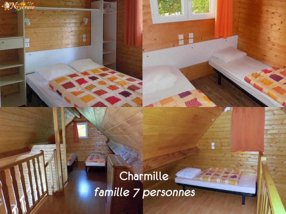 Les 3 chambres du grand chalet Charmille