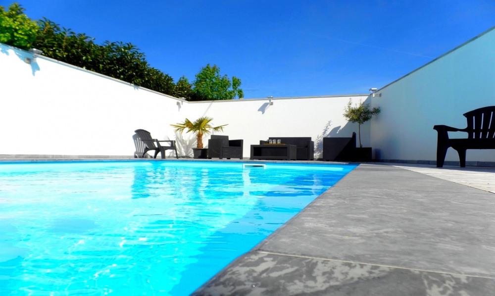 villa bord de mer classée 4* piscine chauffée