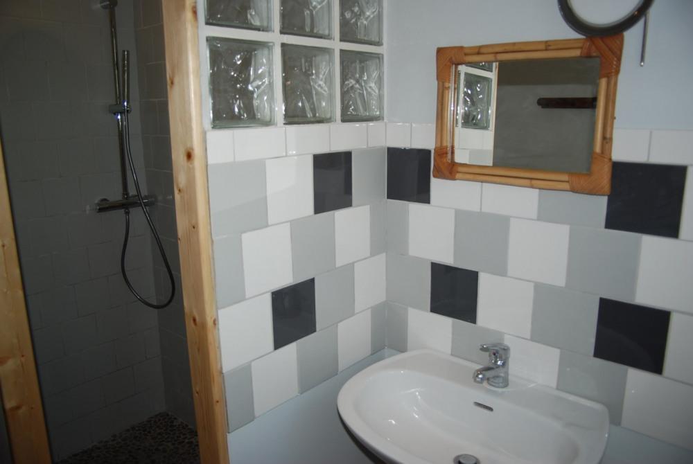 salle d'eau _ WC séparés
