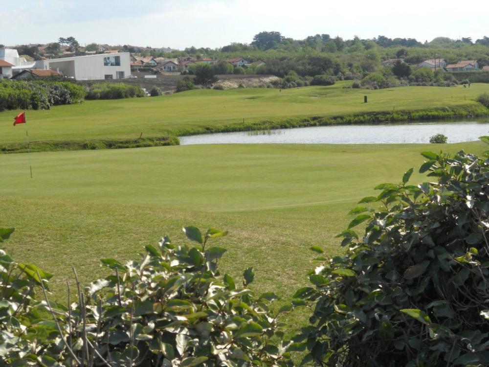vue du golf situé à environ 700m