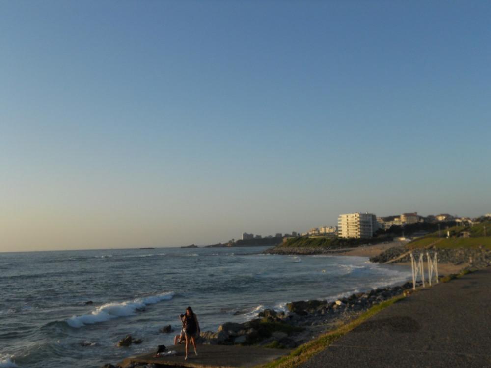 plage marée haute