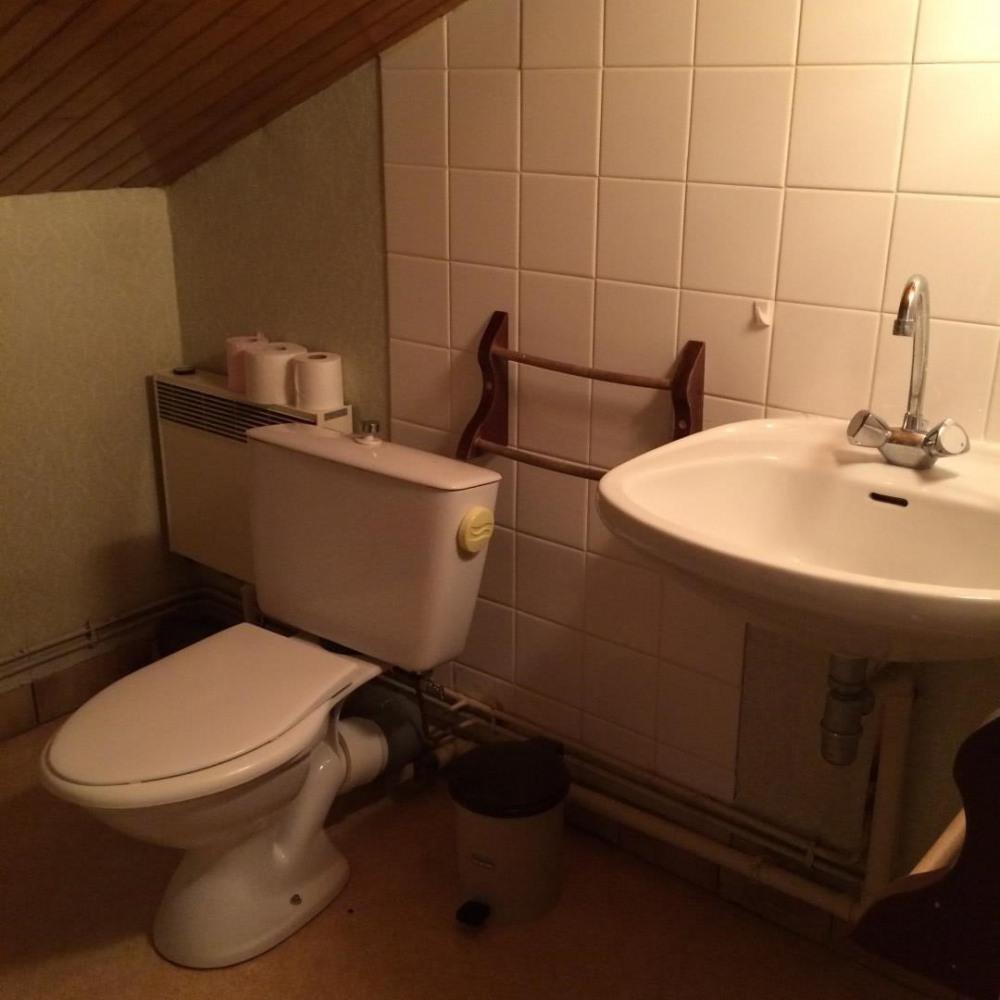 Toilette à l étage
