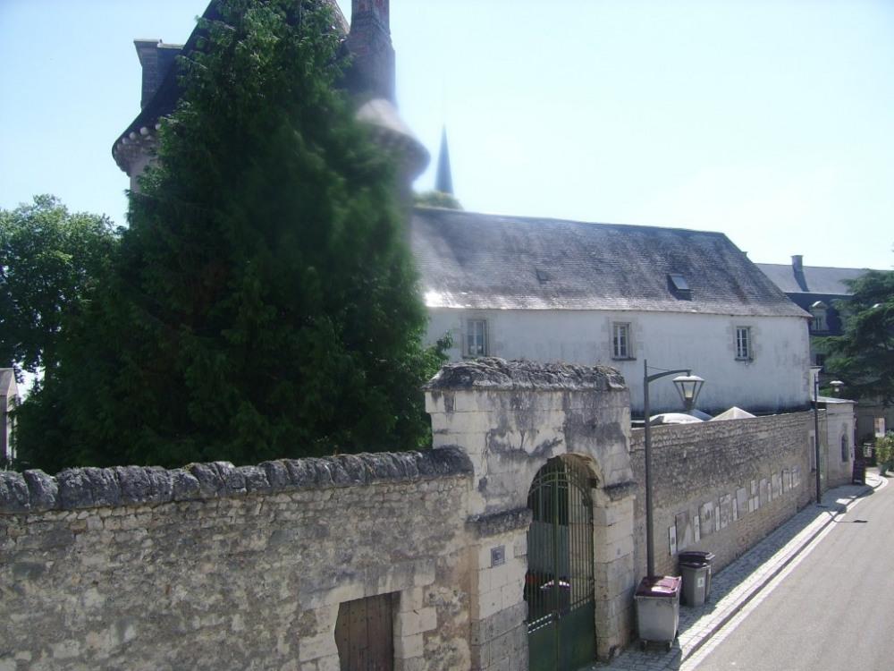 Vue sur l'abbaye