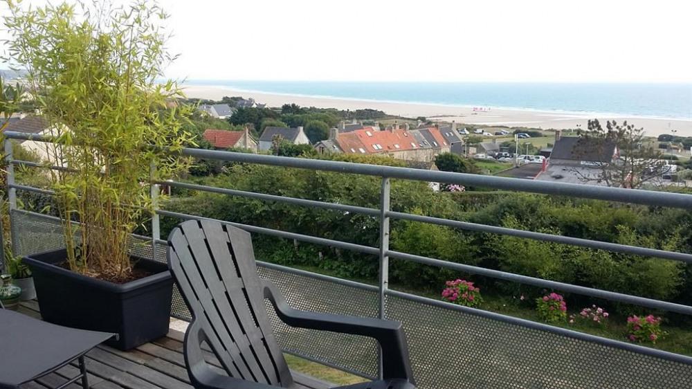 vue sur mer sur la terrasse