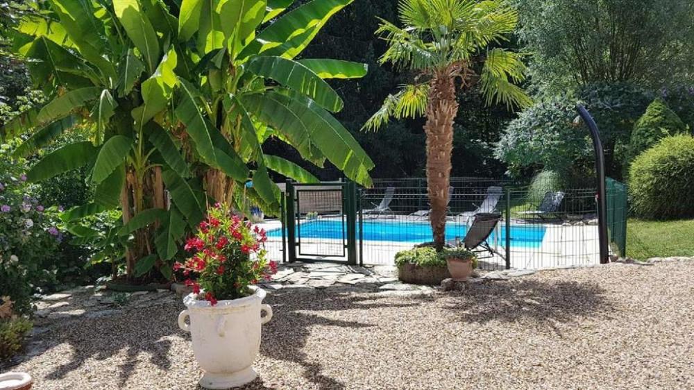piscine sécurisée et privée