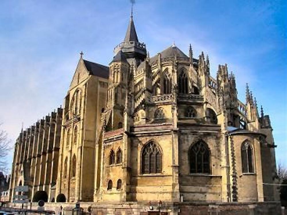 Collégiale Notre-Dame et Saint-Laurent O'Toole à Eu
