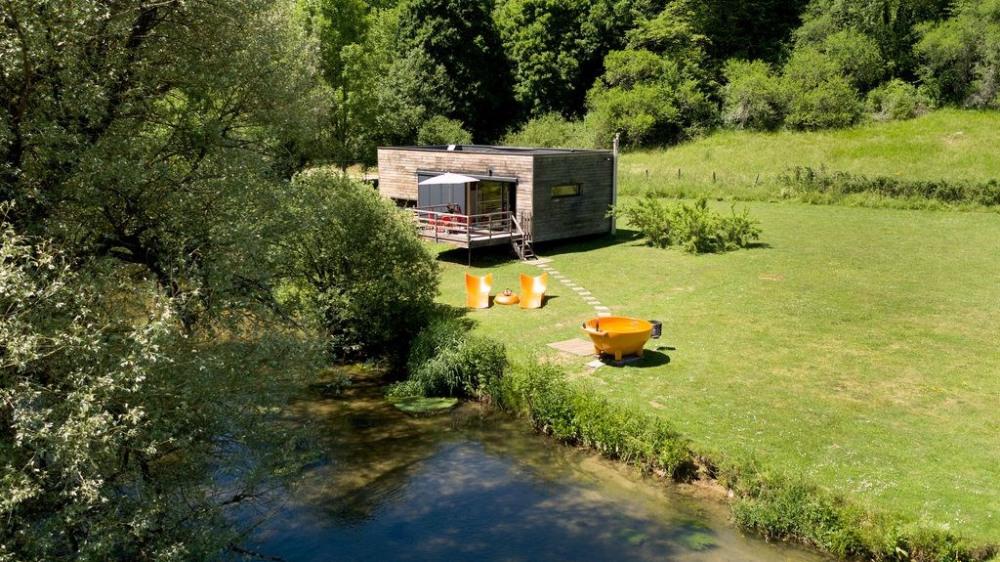 Le CUBE SPA & SAUNA Location vacances France Bourgogne Côte d'Or nature wifi