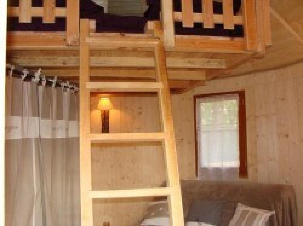 Intérieur cabane