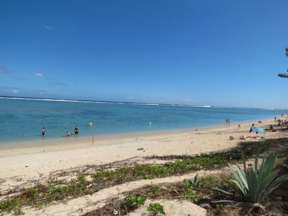 plage et lagon