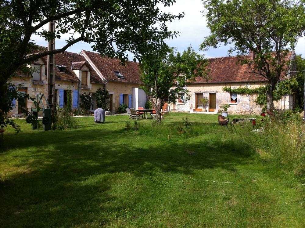 Le jardin avant ses aménagement