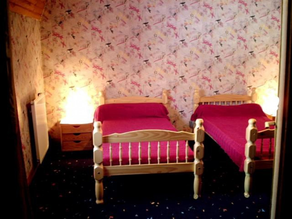 chambre 2 lits 90 cm gite 6 personnes