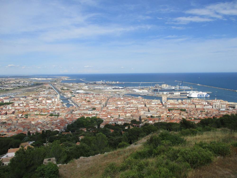 vue panoramique au Mont Saint-Clair