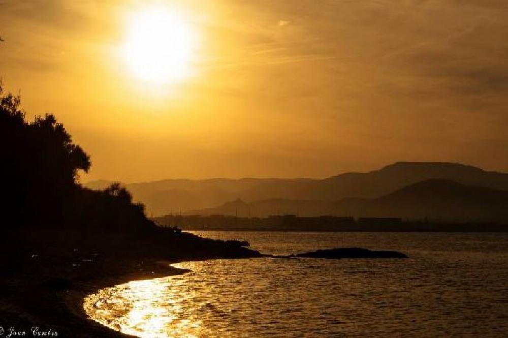 avec ses magnifiques couchers de soleil
