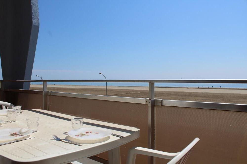Port-la-Nouvelle (11) - Quartier plage - Résidence L'Eldorado. Appartement 2 pièces - 42 m² envir...