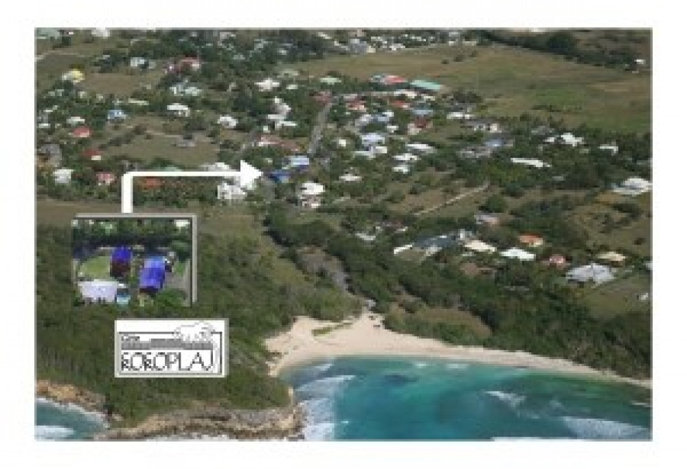 3 plages à proximité à pied de kokoplaj-piscine (150m et 800m) dont 2 lagons ...