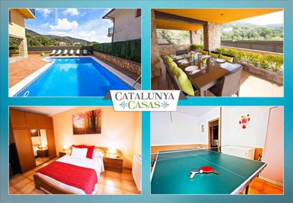 Villa Sant Iscle, Costa Maresme, à seulement 15 minutes de la plage!