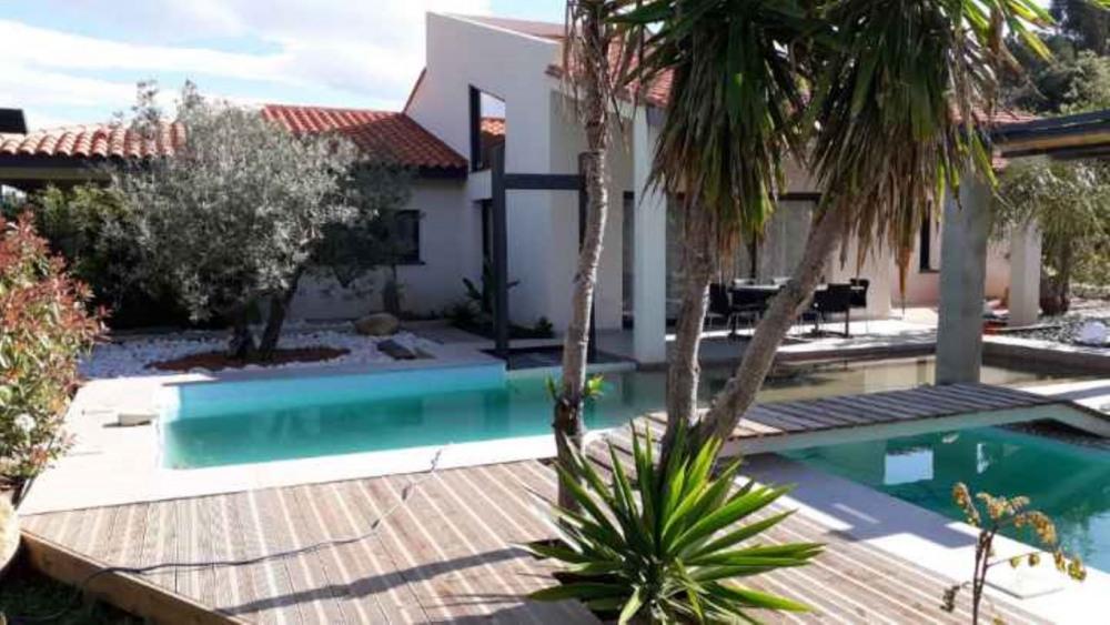 Maison pour 10 personnes avec piscine