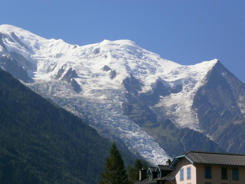 Mont Blanc vu du duplex
