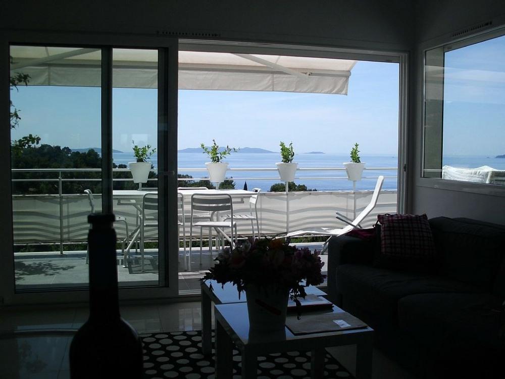 Appartement le lavandou CAVALIERE grande vue mer