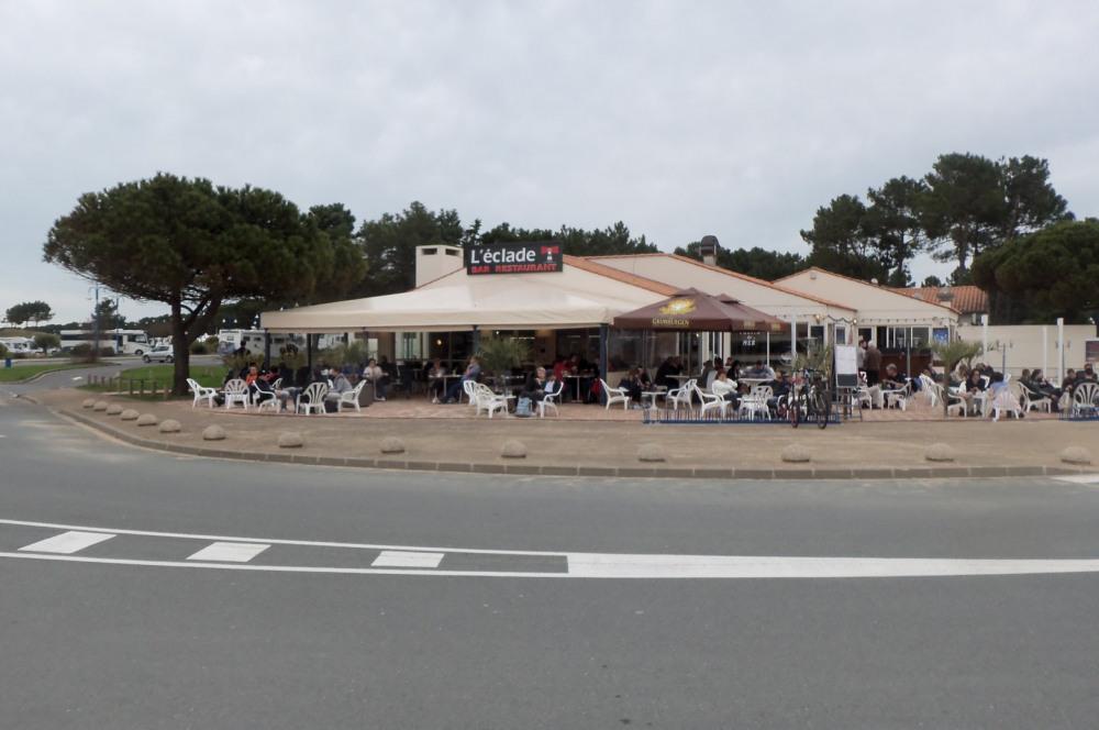 restaurant en bord de mer
