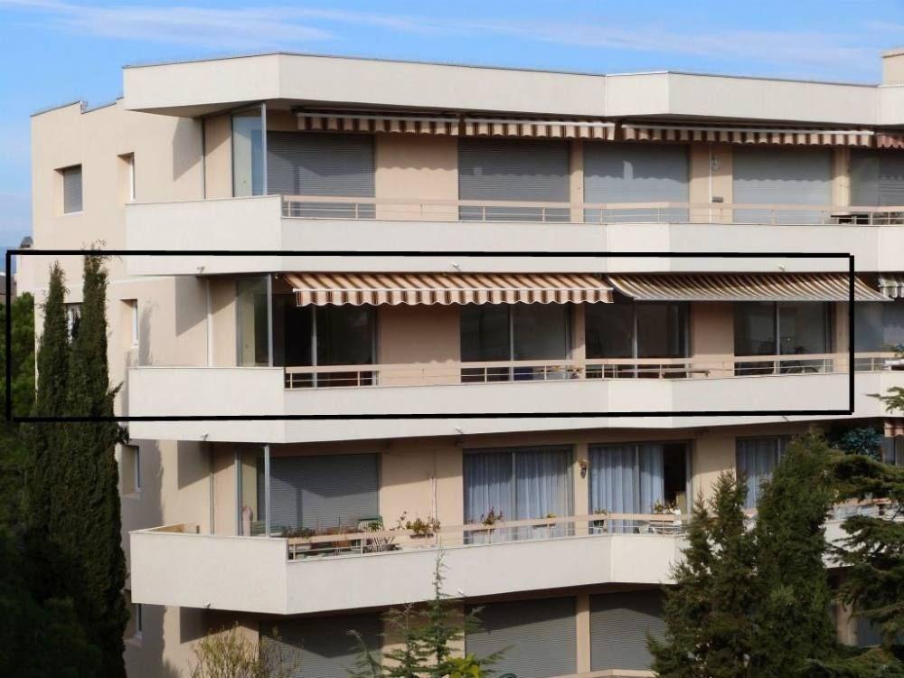 immeuble, l'appartement en encadré