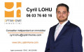 logo LOHU Cyril Agent mandataire Optimhome