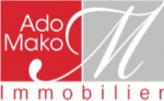 logo Ado mako immobilier`