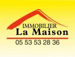 logo Agence immobiliere la maison