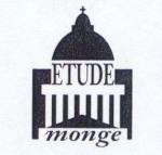logo Etude monge