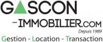 logo Gascon immobilier depuis 1989