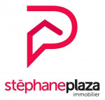logo Stephane plaza immobilier orange