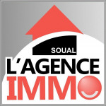logo L agence immo soual