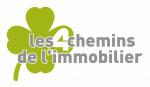 logo LES 4 CHEMINS DE L IMMOBILIER
