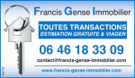 logo Francis gense - francis gense immobilier