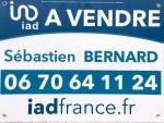 logo Iad france / sebastien bernard