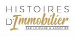 logo Histoires d immobilier par lejeune et associee