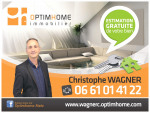logo Wagner christophe agent mandataire optimhome