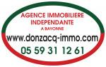logo Donzacq immo