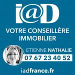 logo Iad france / nathalie etienne