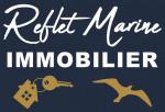 logo AGENCE REFLET MARINE IMMOBILIER