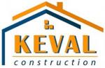 Logo agence KEVAL CONSTRUCTION