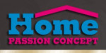 logo Home passion concept