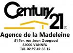 logo Century 21 agence de la madeleine