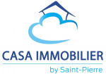 logo Casa immobilier by saint-pierre