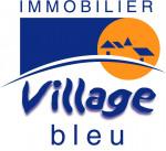 logo Village bleu stela immo