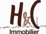 logo H et c immobilier