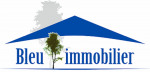 logo Bleu immobilier