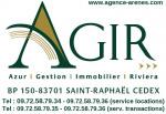 logo Agir - azur gestion immobilier riviera