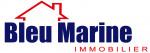 logo Bleu marine immobilier