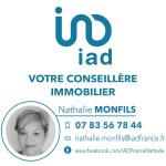 logo Iad france / nathalie monfils